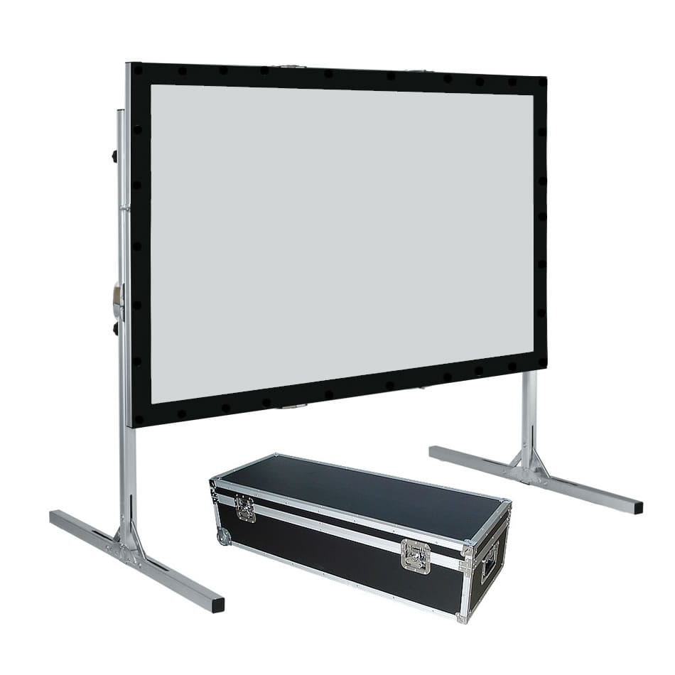 265cm x 150cm Fastfold screen 16:9 ratio - Front and Rear Image