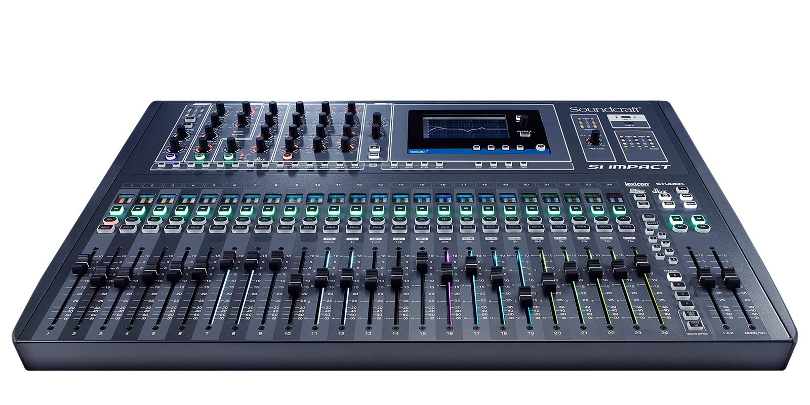 Soundcraft Si Impact 40i/p Digital Mixing Console 32in/32out USB Cntrl Image